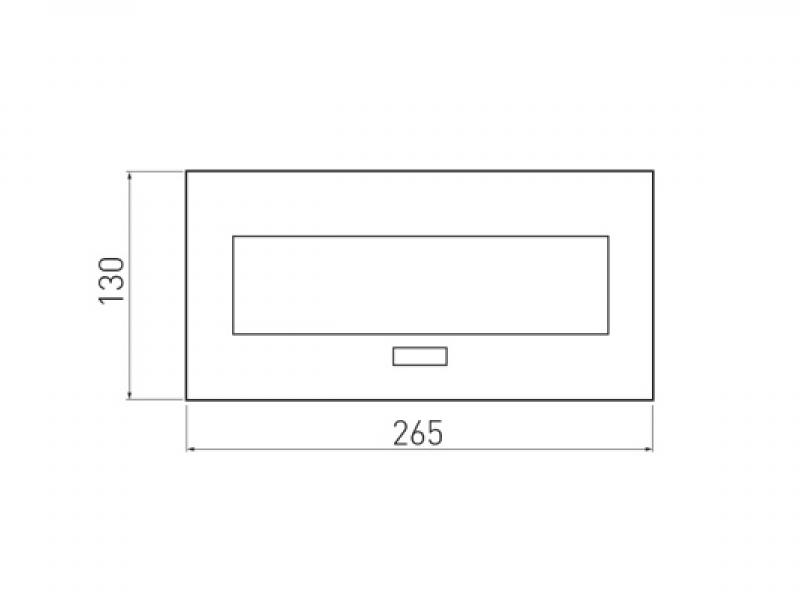Встраиваемая выдвижная розетка в столешницу AE-PBC3GU-10