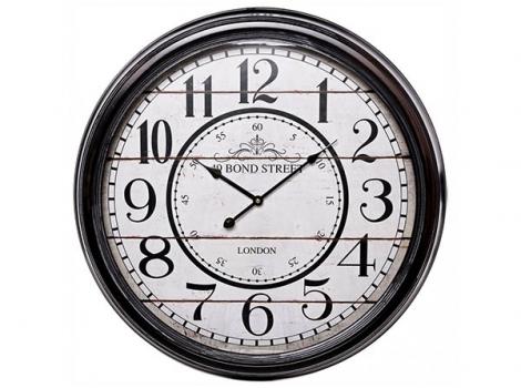 большие настенные часы bond street london