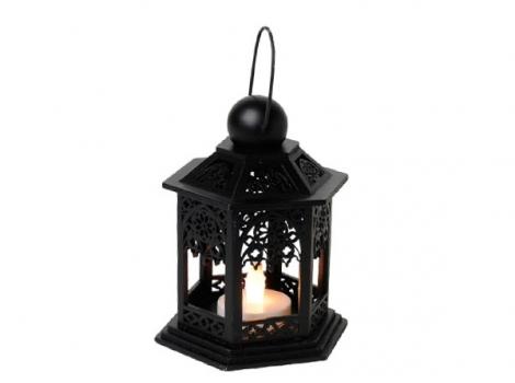 светильник декоративный led 13 см дерево черный