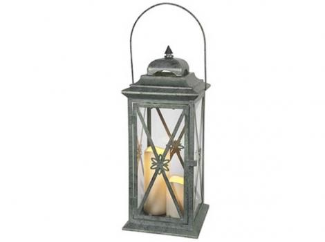 светильник декоративный с таймером 50 см металл