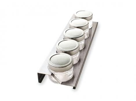 держатель для банок в лоток для столовых приборов