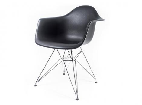 дизайнерский стул eames dar чёрный