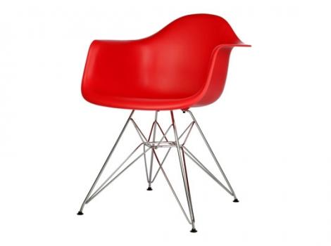 дизайнерский стул eames dar красный