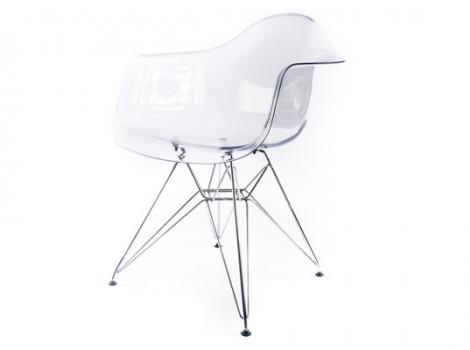дизайнерский стул eames dar прозрачный
