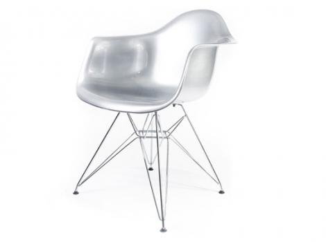 дизайнерский стул eames dar серебро