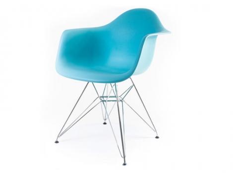дизайнерский стул eames dar синий океан