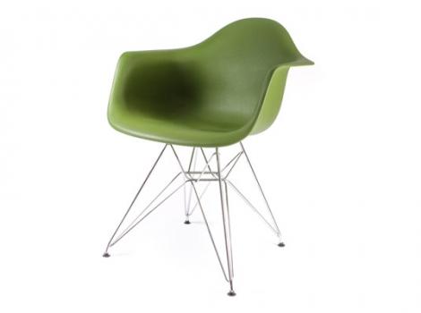 дизайнерский стул eames dar темно-зеленый