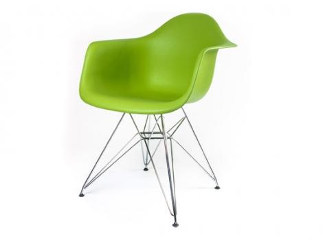 дизайнерский стул eames dar зелёный