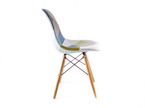 дизайнерский стул eames dsw Patchwork
