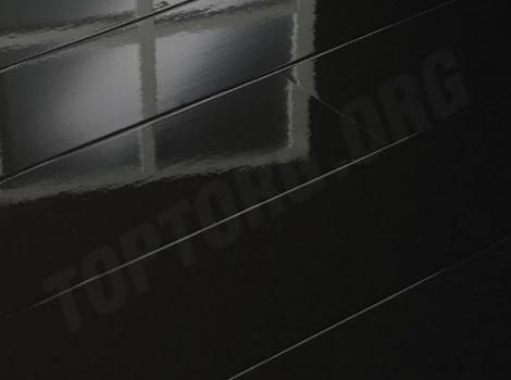 черный глянцевый ламинат 772315