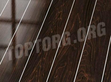 Глянцевый ламинат Falquon D2920 Plateau Maple (алюминиевая вставка)