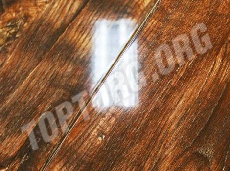 Глянцевый ламинат Imperial Ibiza дуб янтарный 810