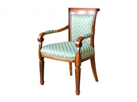 коричневое обеденное кресло