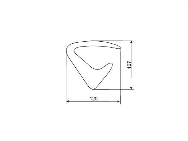 Крючок для одежды PA0.0282.00CL1