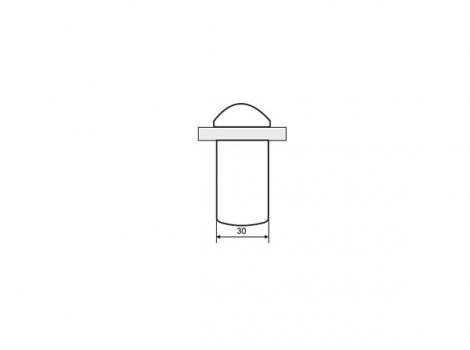 """Кронштейн для полки """"Пеликан"""" классический, отделка золото матовое, комплект 2 штуки"""
