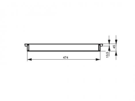 лоток для столовых приборов 60 см