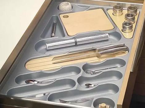 лоток для столовых приборов в ящик 90 см