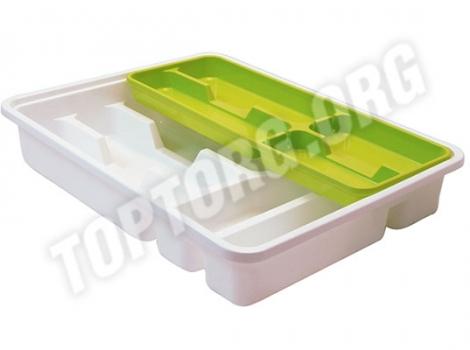 лоток для столовых приборов в ящик 40 см