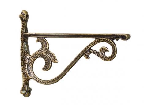 Кронштейн для полки Castello отделка бронза античная, большой