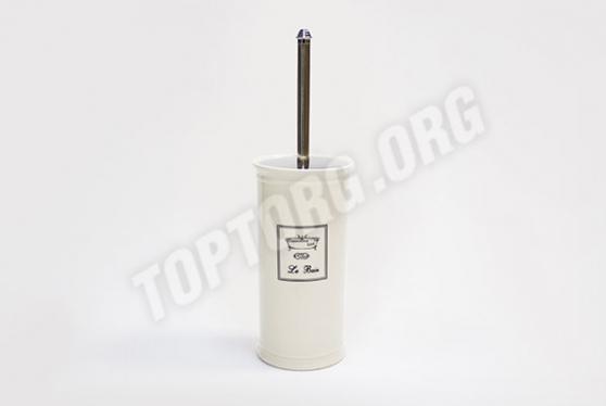 Напольный туалетный керамический ершик для унитаза прованс