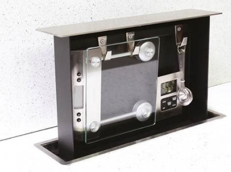 Встраиваемый выдвижной механизм с кухонными аксессуарами Chef centre