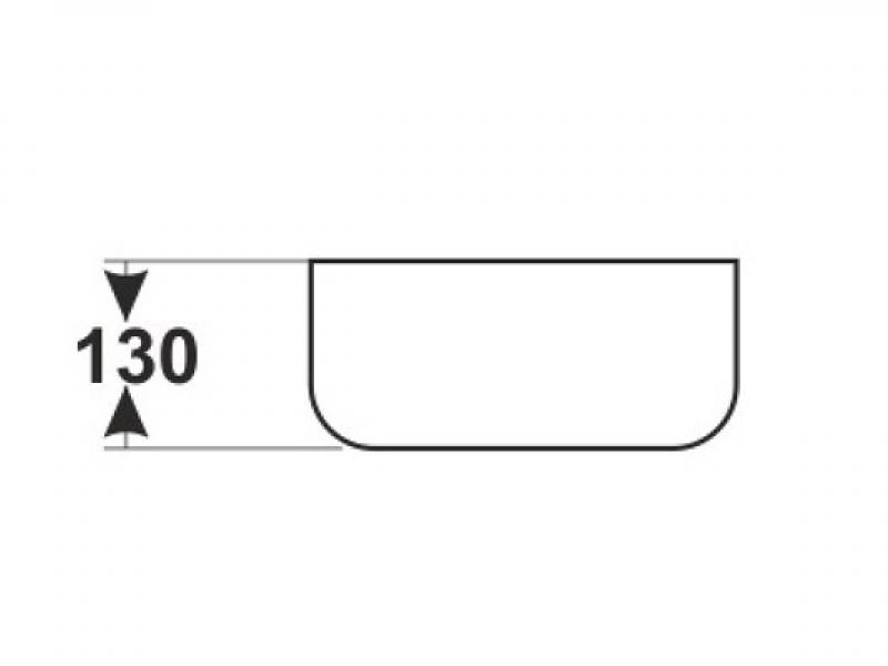 Накладная раковина Melana 78105