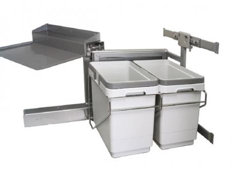 Система сортировки мусора, в ящик от 450 мм, правый, с доводчиком