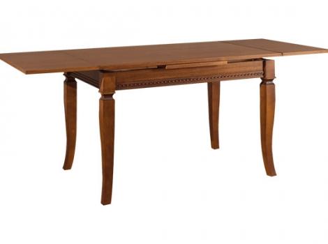 Стол кухонный раскладной 1200 х 800 Ясень коричневый