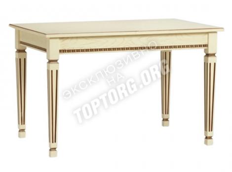 стол кухонный белый с патиной не дорогой