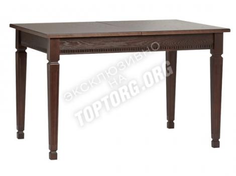 стол кухонный раскладной беый с золотой патиной