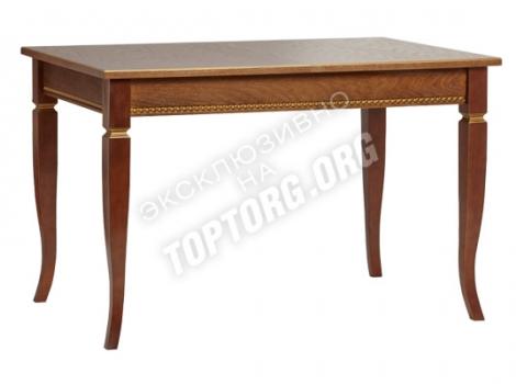 деревянный стол классический с патиной