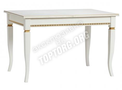 деревянный обеденный стол классический с патиной