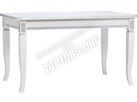 Стол кухонный раскладной Неаполь 2 с патиной