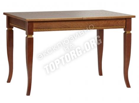 деревянный обеденный стол классический с патиной 900х600