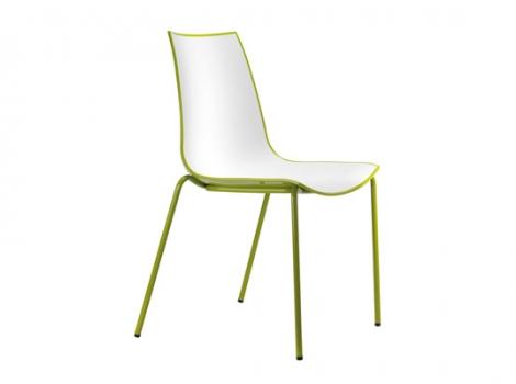 дизайнерский современный стул зеленый