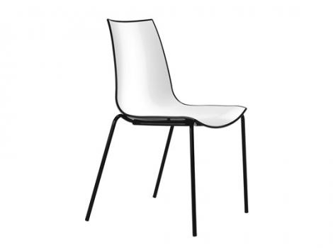 дизайнерский современный стул черный