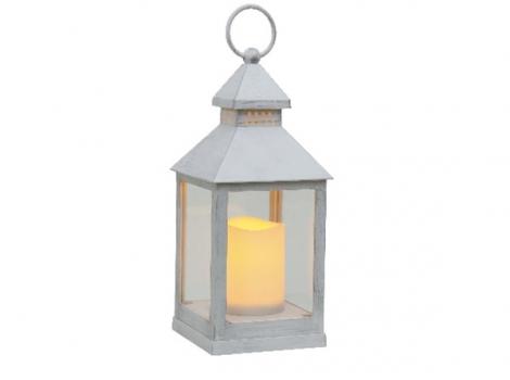 светильник декоративный led с таймером 24 см пластик