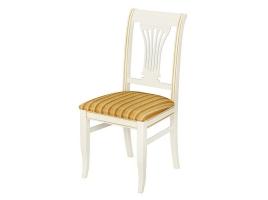 Белый стул с золотой патиной (Катания)