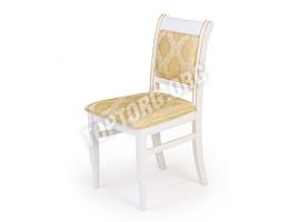 Белый стул с золотой патиной (Палермо)