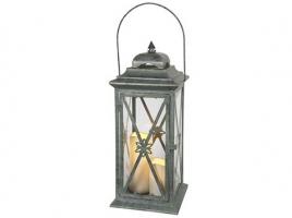 Светильник декоративный LED, с таймером, 50 см, металл, зеленый