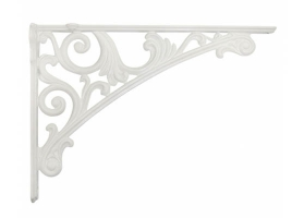 Кронштейн для полки, (200х142) белый глянец