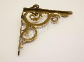 Кронштейн для полки (165х180) античное золото