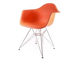 дизайнерский стул eames dar оранжевый