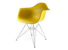 дизайнерский стул eames dar жёлто-оливковый