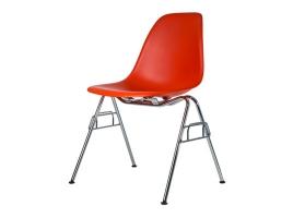 Дизайнерский стул Eames DSS-N dining chair оранжевый
