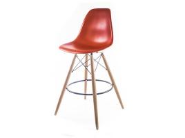 кирпичный барный дизайнерский стул eames dsw