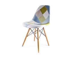 Дизайнерский стул Eames dsw dining chair Patchwork