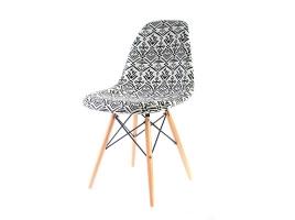 Дизайнерский стул Eames dsw dining chair серый рисунок