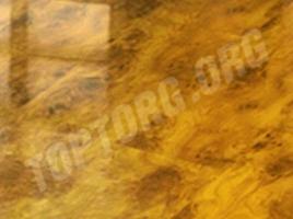 Глянцевый ламинат Elesgo Тис золотой