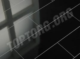 Глянцевый ламинат Elesgo Черный V5